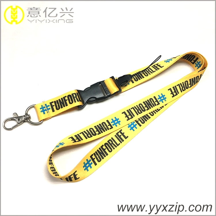 fashion heat transfer Lanyards