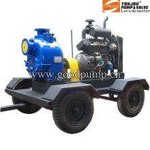 Bomba de aguas residuales diesel