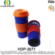 16 onças caneca café Eco-Friendly plástica (HDP-2071)