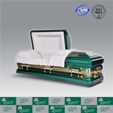 LUXES hohen Standard American Style 18ga Metall Sarg Coffin