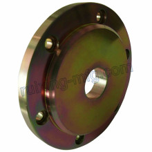 Custom Made Machine Part CNC Torneamento Usinagem Flange de aço