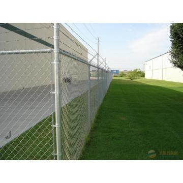 Diamond Fence Chain Link Pagar
