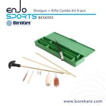 Borekare 9-PCS Shotgun+Rifle Combo Cleaning Kit