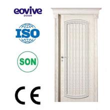 Latest design Decorative Natural Veneer Paint Wood Door