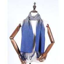 bufanda de lana de gradiente