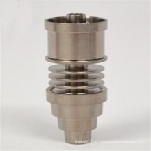 6in1 Titânio Titular para Fumar com Inserção E-Nail (ES-TN-044)