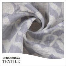 Oem service Différents types de textile tissé jacquard tissé