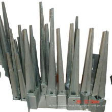 fence post metal pole anchors & post anchor