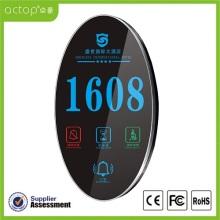 Hotel-elektronisches Zimmer-Nummernschild-Türschild