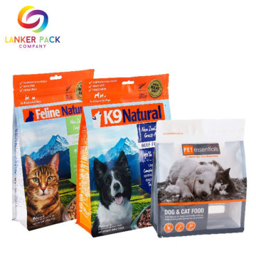 Moisture+Proof+Reusable+Pet+Food+Plastic+Zipper+Bag