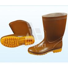 Jy-6237 Art- und Weisestahl-Zehe-halber Stiefel-Gummistiefel-Sicherheits-Regen-Aufladungen