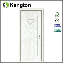 Hot Sale Toliet Door Portas de madeira em PVC (porta em PVC)