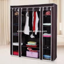Портативный одежды гардероб шкаф нетканые ткань для хранения Организатор