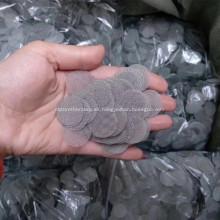 Hoja de filtro de malla de alambre de acero inoxidable de forma redonda
