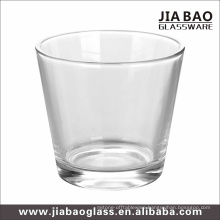 Clear Glass Candle Cup with 9oz