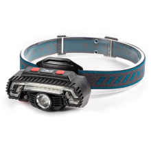 Outdoor Dual Purpose Bicycle Light USB Rechargeable Multifunction Led Headlights LED Headlamp with Motion Sensor