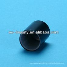 Matte black Perfume cap for glass bottle