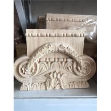madera tallada onlays uso de la decoración del hogar