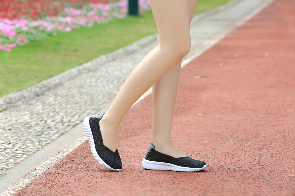 Ladies Black Flats