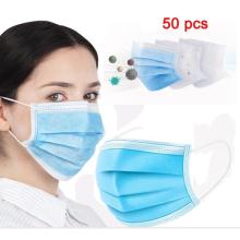 3-lagige medizinische Einweg-Gesichtsmaske
