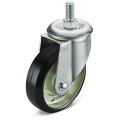 Das Black Rubber Screw Caster Wheel