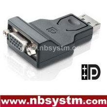Conversor DP para VGA wIC (macho DP para VGA fêmea)