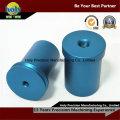 Алюминиевые детали OEM CNC с цветом анодированный части CNC
