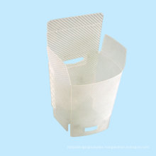 Ultrasonic PP Twill Plastic Box (HL-057)