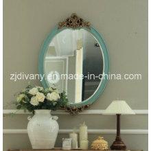 Miroir rond bois de Style classique (2605)