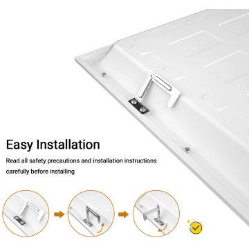 Painéis de luz embutida LED regulável de 40 W
