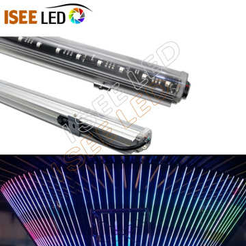 Silm RGB DMX Video عنونة ضوء أنبوب LED