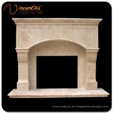 Zeitgenössischer Design-Marmor-Naturstein-Kamin-Rahmen
