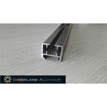 Aluminium Electric Curtain Track of Silver Polished Thick and Strong