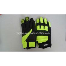 Mechaniker Handschuh-Aufbau Handschuh-Sicherheitshandschuh-Arbeitshandschuh-Industriehandschuh-Arbeitshandschuh