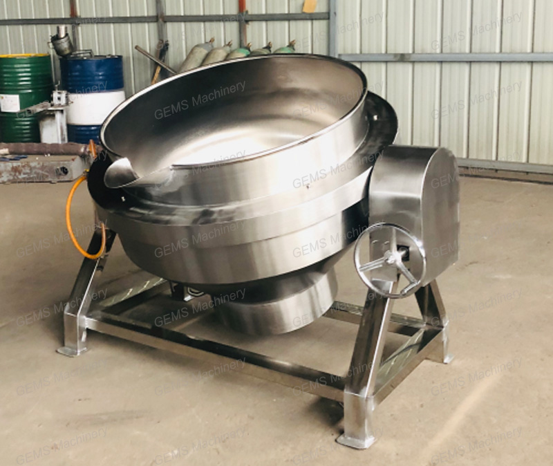 jacketed kettle 11