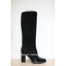 Fashion High Heels Leather Warm Winter Women Boots