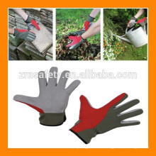 Guter Preis weiche Kunstleder Handschutz Garten Handschuhe