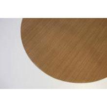PTFE baking sheet 28 cm round brown
