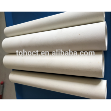 Stocks disponibles 60% - 75% de tubo de tubo de cerámica de alúmina en Refractarios de horno de alta calidad