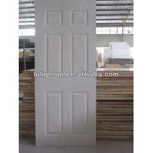 Белая грунтовка формованные дверные кожи