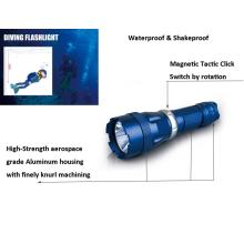 CREE XM-L T6 LED Underwater Diving Flashlights 5 Modes