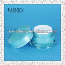 Color Coating Cosmetic Acrylic Jar 50g