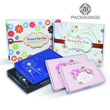 Custom flexo printing garment packaging box