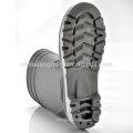 High Heel Regen Stiefel, Sicherheits-Regen Stiefel, Sicherheits-Gummistiefel W-6038