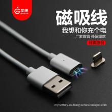 El más nuevo cable cargador magnético para Apple y Android Mobile