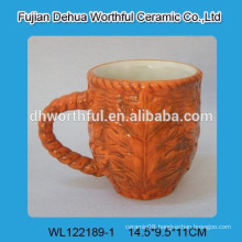 Canada maple leaf ceramic mug