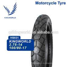 56% Rubber Touring 100 / 90-17 110 / 90-17 Motocicleta Tubeless Tire Elección del proveedor