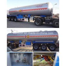 56m3/3 Axles Propane Gas Tank Tralier on Sale