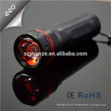 Luz do diodo emissor de luz lanterna conduzida, luzes piscando impermeáveis conduzidas, luz conduzida do trabalho da lanterna elétrica