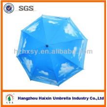 Parapluie de golf extérieur en fibre de verre